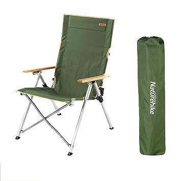 AOKASIX Silla Plegable Camping, 3 ángulo Ajustable, Portátil ...