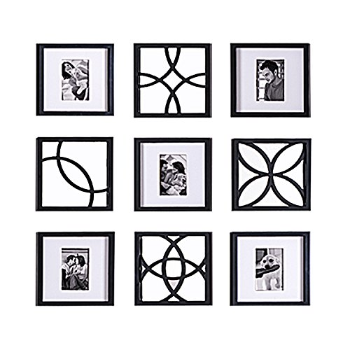 Jerry & Maggie - Total 9 Pieces of Photo Frame & Wall Mirror