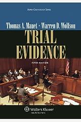 Trial Evidence (Aspen Coursebook Series) Paperback