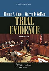 Trial Evidence [With CDROM] (Aspen Coursebooks)