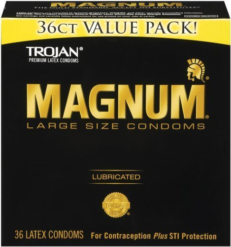 Trojan Magnum New Value Pack 36ct (Pack of 3) by Trojan