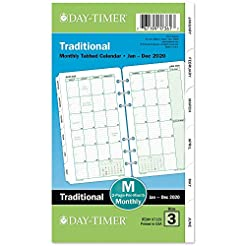 Day-Timer 2020 Monthly Planner Refill, 3...