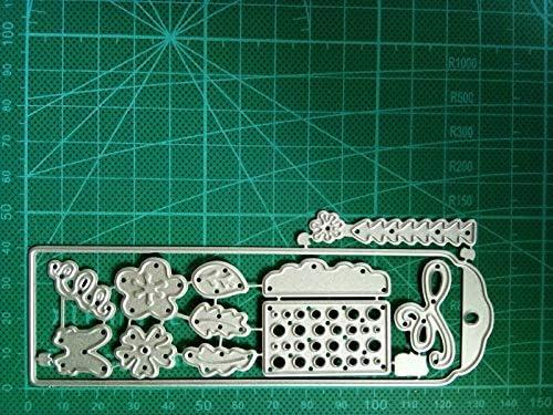 Silver Diverse Metal Cutting Dies Stencils Scrapbook Paper Card Embossing