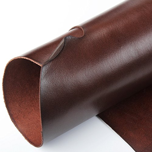 WUTA Leather Vegetable Tanned Cowhide Leather Full Grain Pre-Cut Leather Piece