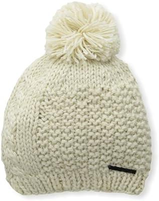 Discrete Womens Trima Beanie Oatmeal One Size Discrete Headwear 2727