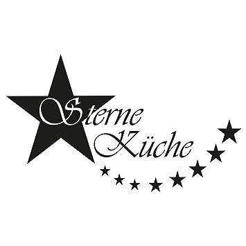 Wandtattoo Sterne Kuche S 30cm X 18cm Duvar Tattoo 24 Mogliche