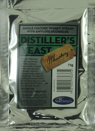 Still Spirits Whiskey Distiller's Yeast (Best Yeast For Distilling)