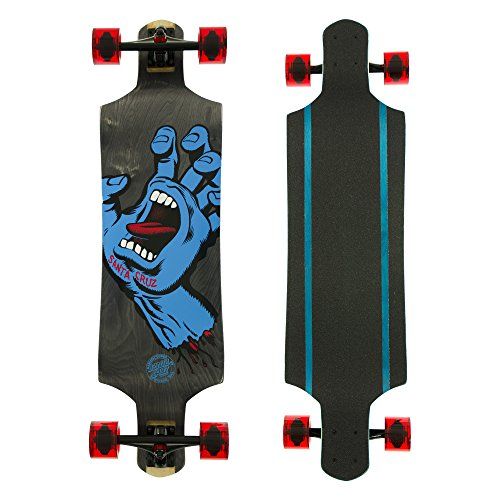 SANTA CRUZ Longboard Complete SCREAMING HAND MICRO DROP DOWN 9.34″ x 36.52″