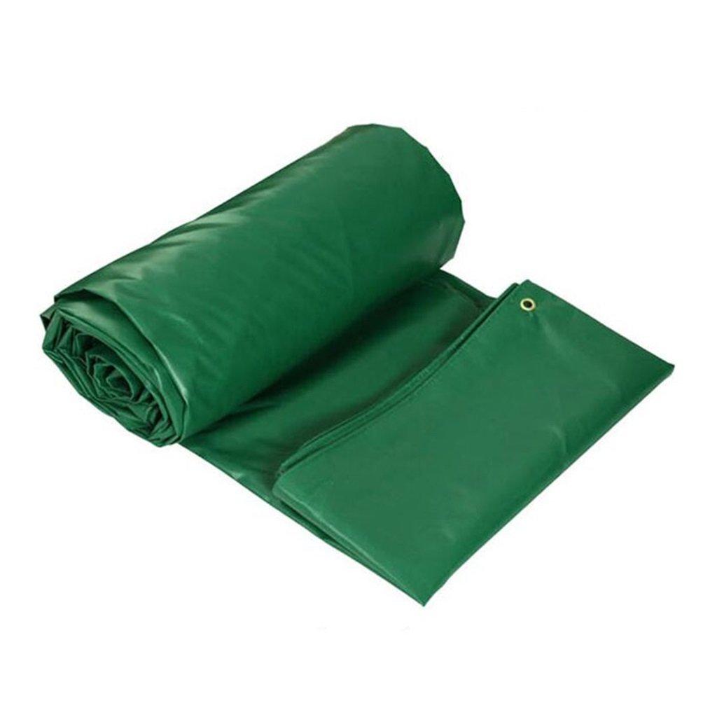 LWHY 屋外シェード防水ルーフカバーガーデンレインカバー - 100%防水 - 450g /m²、厚さ0.4mm、マルチサイズオプション(グリーン) (サイズ さいず : 6MX4M) 6MX4M  B07K2QHG2N