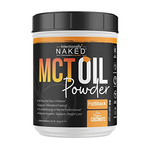 Organic Coconut MCT Oil Powder - Zero Net Carbs - Keto Diet, Paleo, Vegan - Sustained Energy, Appetite Control, Mental Clarity - Great for Keto Coffee & Shakes - Non-GMO - Unflavored, 50 Servings