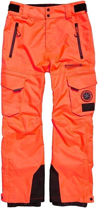 Pantalon De Ski Superdry Snow Pant Hyper Orange