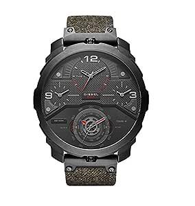 Diesel Men's DZ7358 Machinus Black Ip Denim Watch