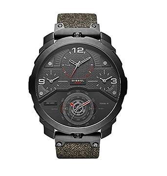 Diesel Reloj Analógico para Hombre de Cuarzo con Correa en Cuero DZ7358: Amazon.es: Relojes