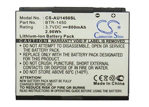 - XPS Replacement Battery Compatible with AUDIOVOX 1450M Super Slice CDM-1450 PCS-1450 PCS1450VM PN BTR-1450
