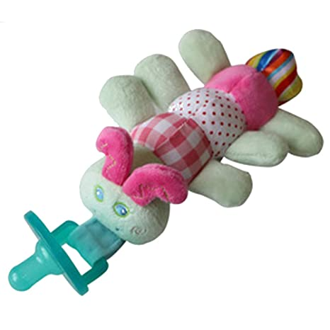 Isuper Chupete con Peluche para bebé,Juquete de muñeca ...
