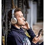 PowerLocus-P6-Cuffie-Bluetooth-Over-Ear-20-ore-Autonomia-Voice-Assistant-Cuffie-Wireless-Senza-Fili-Pieghevoli-Cuffie-Hi-Fi-Stereo-con-Microfono-per-iPhone-Samsung-iPad-PC-TV-Argento