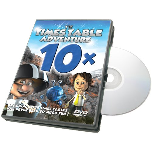 - Times Table Adventure 10X Table : The Marble Plains [DVD]
