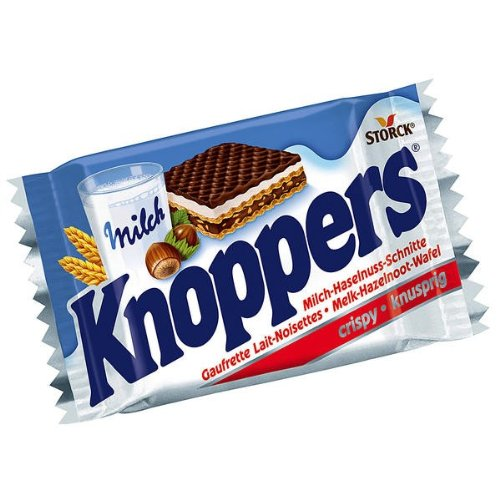 Snack From Germany Storck Knoppers 25g Chocolate Bar