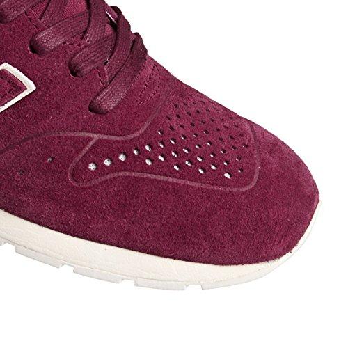 Balance New Bordeaux 996 Leather Herren Sneaker Grau HfSRqO4xfw