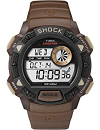 Timex Men's TW4B07500GP Expedition Cat Shock Brown Dial Wrist Watch