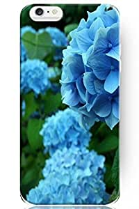 Flower Iphone 6 Case Colourful Design For Teen Girl Hard Skin Back Case Cover Shell For Mobile Phone (4.7 inch) -- Blue Flower Picture by icecream design