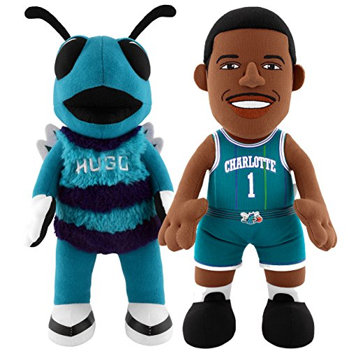 Hugo Duo - Bleacher Creatures Charlotte Hornets Dynamic Duo Hugo and Muggsy Bogues 10