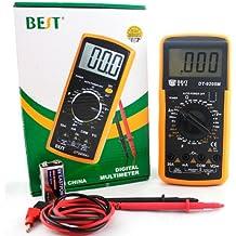 BEST BST-9205M Digital Multimeter Voltmeter Ammeter Ohmmeter Volt AC DC Diode Transistor Resistance Capacitance Tester Meter