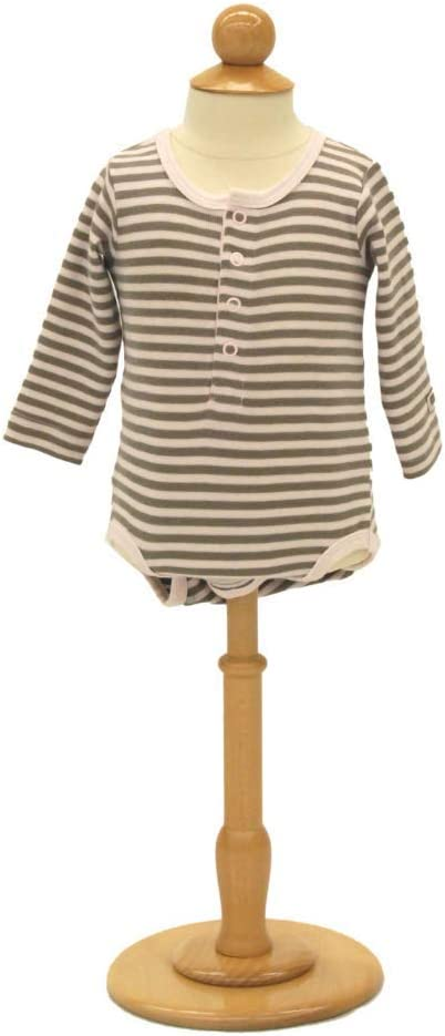 12 Year Old Childs Dress Form Pinnable Kids Unisex Dress Form Infant Mannequin with Round Wooden Base and Neck Top