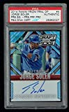 Jorge Soler signed autograph auto 2014 Panini Prizm Press Proof Card PSA Slabbed