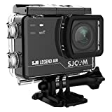 SJCAM SJ6 Legend Air WIFI 4K Action Camera with 2.0 HD Touchscreen/170 Degree Wide Angel/ Gyro Stabilization/ External Microphone/Remote Control Waterproof Underwater Digital Action Camera for Diving,