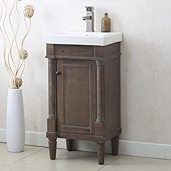 Foremost Coeat1816 Columbia 18 Inch Espresso Bath Vanity