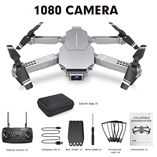 Dubleir WiFi FPV HD Camera Drone RC Foldable Four-axis Drone with camera live video Wifi GPS 1080P 720P 4K Professional…
