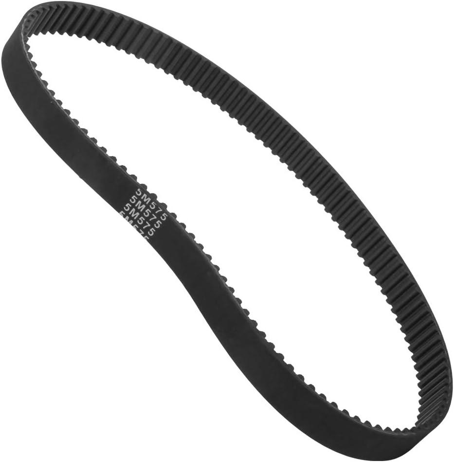 MAGT Courroie de Distribution Courroie de Transmission dentra/înement R/ésistante /à la Chaleur 5M-575 pour Scooter /électrique de V/élo