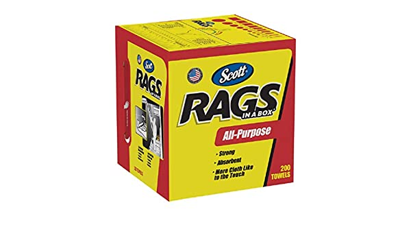 Kimberly-Clark kim75260 Rags en una caja x13in.-De W asa, 10 cm blanco: Amazon.es: Hogar