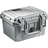 Pelican 1300 Camera Case With Foam (Silver)