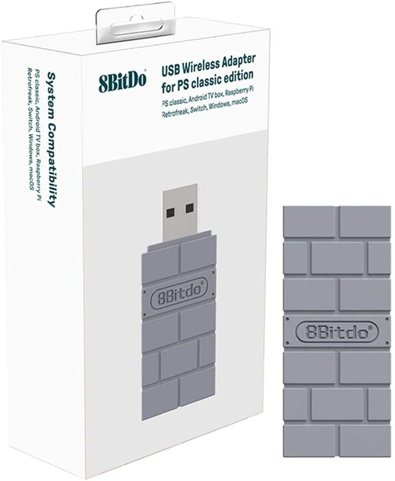Amazon.es: Polai 8Bitdo Bluetooth Adaptador Wireless para Nintendo Switch /Windows/Mac/Switch/Raspberry Pi