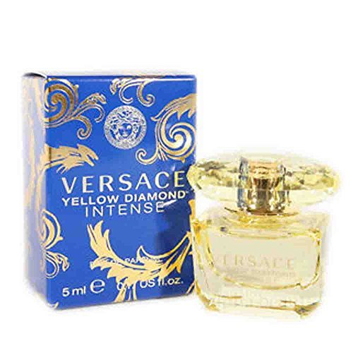 Versace Yellow Diamond Intense 0.17 oz / 5 ml EDP SPLASH WOMEN NEW IN BOX MINI