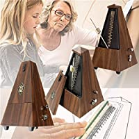 New Teak Classic Mechanical Beat Metronome Piano Guitar Violin Musical Instruments By KTOY