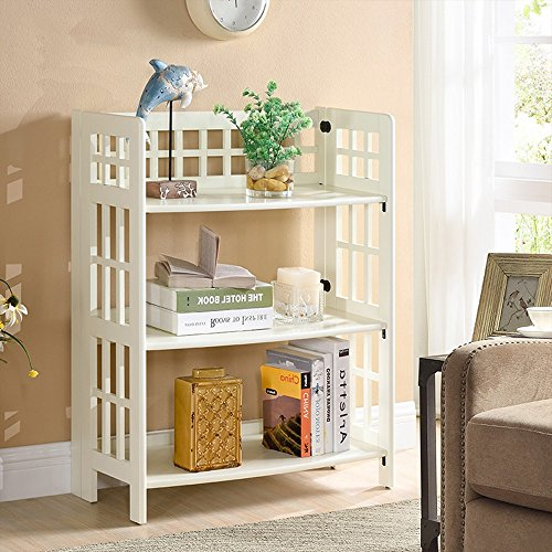 Living Room Display Storage: Shelves MEIDUO 3 Tier Floor Standing Living Room Storage