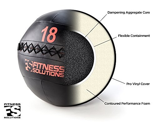 Fitness Solutions Wall Ball (16 LB)