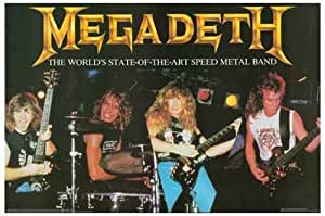 Megadeth Stae-of-the-art Speed Metal Band 11x17 Poster