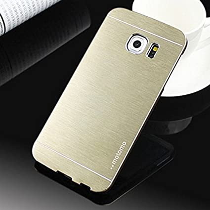 4b0237475 Image Unavailable. Image not available for. Color: Case For Galaxy S8 ,  Motomo Aluminum Brushed Metal ...