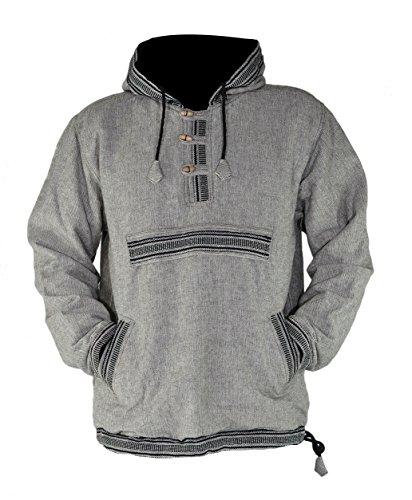 4874d1d5c531 virblatt - Mens Baja Hoodie and Hippie Sweater Baja Jacket Men Hoodie  Sweaters Men – Sphärenhaft