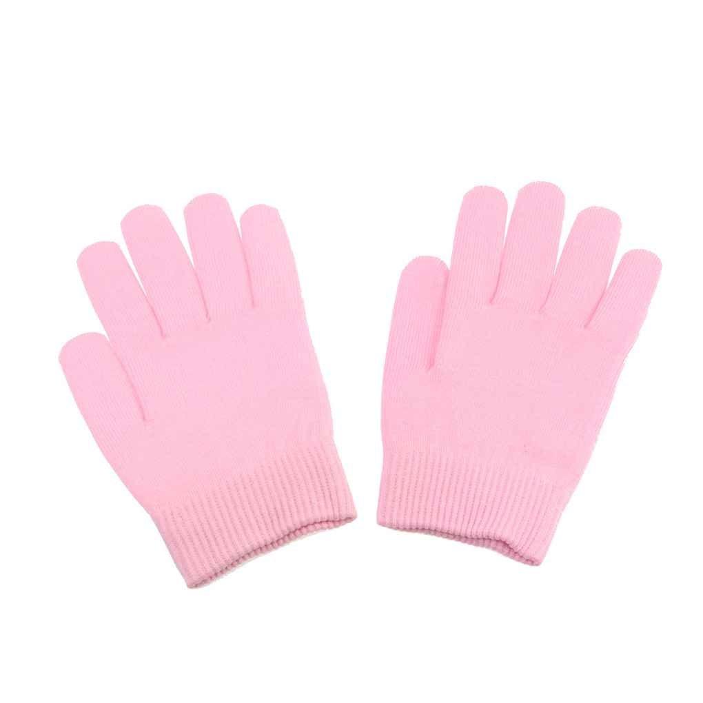 MUANI SPA Plant Essential Oil Gel Moisturizing Exfoliating Gloves High Elastic Fiber Anti-aging Beauty Mittens Mitts
