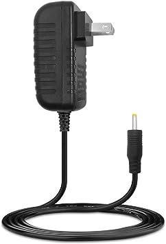 AFUNTA DC 5V 2A/2000mah Adaptador de Corriente AC Cargador de Pared para Android Tablet PC Mid eReader con Conector Redondo de 2,5 mm Jack US Plug – Negro: Amazon.es: Electrónica