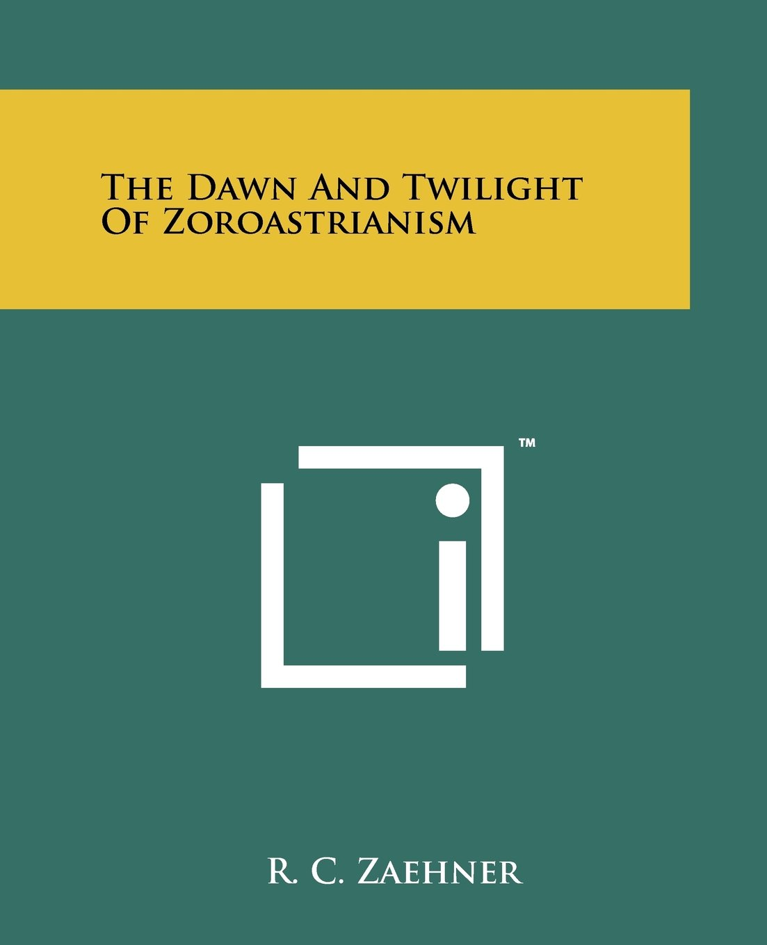Buy The Dawn And Twilight Of Zoroastrianism Book Online At Low