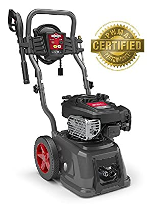 Briggs & Stratton 020685 3100 PSI 2.5GPM Pressure Washer, Red/Gray/Titanium by Briggs and Stratton Power Products
