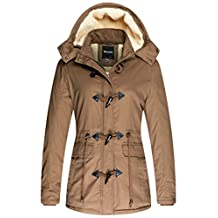 Wantdo Women'S Winter Coat Cotton Parka Jacket