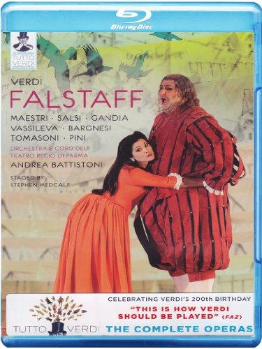 Andrea Battistoni - Falstaff (Blu-ray)