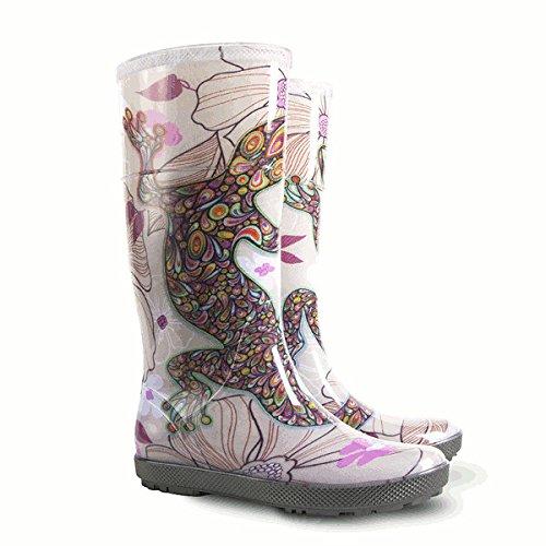 Damen Regenschuhe Regenstiefel Gummistiefel Regen Schuhe HAWAI LADY EXCL Demar